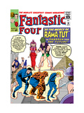 The Fantastic Four No.19 Cover: Mr. Fantastic Prints by Jack Kirby