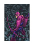 Hawkeye No.7 Cover: Hawkeye Prints by Kolins Scott
