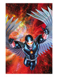 War Of Kings: Darkhawk 1 Cover: Darkhawk Poster by Brandon Peterson