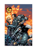 Ghost Rider V3 No.3 Cover: Gunmetal Gray Prints by Kaniuga Trent