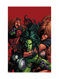 She-Hulk No.36 Cover: She-Hulk Posters by Mike Deodato Jr.
