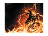 Ghost Rider 1 Cover: Ghost Rider Art