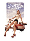The Amazing Spider-Man 602 Cover: Mary Jane Watson Print by Granov Adi