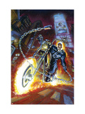 Ghost Rider Annual 2 Cover: Ghost Rider Prints by Texeira Mark