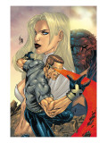 New X-Men No.155 Cover: Cyclops, Emma Frost and Beast Prints by Salvador Larroca