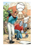 Ultimate X-Men 88 Group: Summers, Scott, Emma Frost and Colossus Art by Paquette Yanick