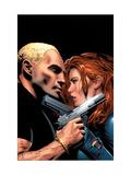 Black Widow No.6 Cover: Black Widow Prints by Greg Land