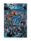 Fantastic Four 555 Cover: Invisible Woman and Mr. Fantastic Posters by Bryan Hitch
