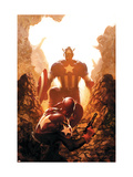 Captain America 39 Cover: Captain America Prints