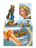 X-Men: First Class 1 Group: Marvel Girl Print by Roger Cruz