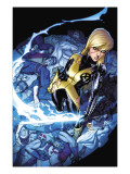 New Mutants No.9 Cover: Magik Prints by Adam Kubert