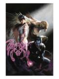 Ultimate X-Men No.95 Cover: Dazzler, Nightcrawler and Angel Prints