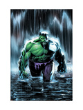 Incredible Hulk No.77 Cover: Hulk Kunstdrucke von Lee Weeks