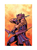Hawkeye 5 Cover: Hawkeye Prints by Carlos Pacheco
