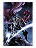 Thor #80 Cover: Thor and Iron Man Print van Steve Epting