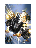 War Machine 1 Cover: War Machine Prints by Manco Leonardo