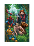 Marvel Adventures The Avengers 33 Cover: Wolverine Print by Roger Cruz