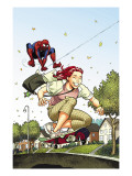 Spider-Man Loves Mary Jane Season 2 3 Cover Prints by Moore Terry
