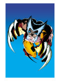 Wolverine No.2 Cover: Wolverine Fighting Posters van Frank Miller