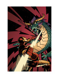 Iron Man: Enter The Mandarin 5 Cover: Iron Man Prints by Canete Eric