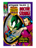 Strange Tales 152 Cover: Dr. Strange, Umar and Mindless Ones Art by Bill Everett