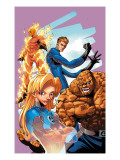 Marvel Age Fantastic Four 9 Cover: Mr. Fantastic Posters by Makoto Natsuki