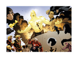 The Mighty Avengers No.32 Group: Wasp Poster by Pham Khoi