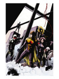 The Order 10 Cover: Anthem, Veda, Calamity and Aralune Print by Kitson Barry