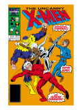 Uncanny X-Men 215 Cover: Storm, Crimson Commando, Super Sabre and Stonewall Posters par Davis Alan