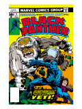Black Panther 5 Cover: Black Panther Art by Jack Kirby