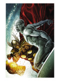 Beta Ray Bill: Godhunter 2 Cover: Beta-Ray Bill and Silver Surfer Art by Patrick Zircher