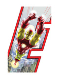 Avengers: Earths Mightiest Heroes No.3 Cover: Iron Man Prints by Kolins Scott