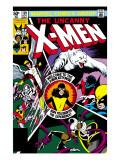 Uncanny X-Men No.139 Cover: Shadowcat, Storm, Angel, Colossus, Nightcrawler, Wolverine and X-Men Affiches par Byrne John