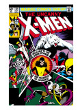 Uncanny X-Men No.139 Cover: Shadowcat, Storm, Angel, Colossus, Nightcrawler, Wolverine and X-Men Affiches par John Byrne