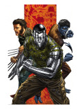 Uncanny X-Men No.496 Cover: Colossus, Nightcrawler and Wolverine Prints by Choi Mike