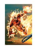 Ultimate Fantastic Four No.54 Cover: Human Torch Kunst von Tan Billy