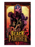 Black Panther No.11 Cover: Black Panther, Cage, Luke and Shang-Chi Posters af Mike Deodato