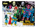 Infinity Gauntlet 4 Group: Thanos Art by George Perez