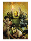 The Immortal Iron Fist No.22 Cover: Iron Fist Charging Posters by Patrick Zircher