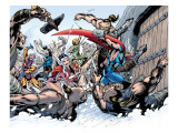 Thor: Truth Of History No.1 Group: Thor, Sif and Balder Prints by Davis Alan