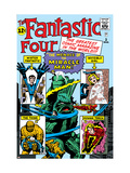 The Fantastic Four No.3 Cover: Mr. Fantastic Print by Jack Kirby