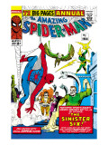 Amazing Spider-Man Annual No.1 Cover: Spider-Man Art by Steve Ditko