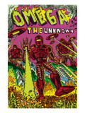 Omega: The Unknown No.7 Cover: Marvel Universe Prints by Dalrymple Farel