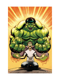 Hulk No.13 Cover: Banner, Bruce and Hulk Posters by McGuiness Ed