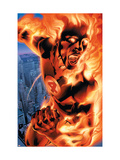 Ultimate Fantastic Four No.3 Cover: Human Torch Prints by Bryan Hitch