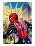 Amazing Spider-Girl 16 Cover: Spider-Girl Fighting and Flying Affiches par Ron Frenz