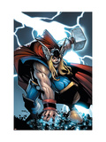 Avengers: The Initiative No.21 Cover: Thor Prints by Humberto Ramos