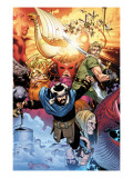 Thor: Tales of Asgard By Stan Lee & Jack Kirby No.4 Cover: Hogun, Fandral and Volstagg Posters by Coipel Olivier