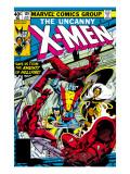 Uncanny X-Men No.129 Cover: Wolverine, Colossus, Storm and X-Men Affiches par Byrne John