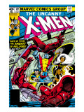 Uncanny X-Men No.129 Cover: Wolverine, Colossus, Storm and X-Men Prints by John Byrne